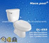 Badezimmer-Toiletten-gesundheitliche Ware-zweiteilige Toiletten-keramische Arbeitskarte (CL-016)