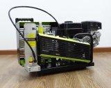 300 bar 3.5cfm gasolina portátil Buceo compresor de aire para respirar
