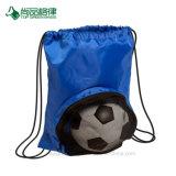 高品質によってカスタマイズされるポリエステルフットボールのバスケットボールのドローストリングのバックパック袋