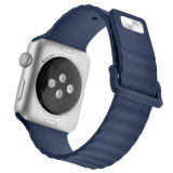 para la venda de moda del silicón 38mm&42m m de la venta al por mayor de la venda de Apple Iwatch