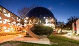 SS304 grande sphère creuse en acier inoxydable pour l'extérieur bille décorative 1500mm-2000mm