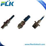 Adaptador de fibra óptica de híbrido (Macho y Hembra) SC/LC/St/CF/E2000 Dúplex Simplex