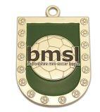 Подгонянное медаль металла спорта меди серебра золота спорта эмали идущее
