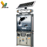 O LED de energia solar para a tela de exibição de Publicidade Caixas Fruit-Rind