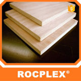 Madera contrachapada de Rocplex Gurjan, madera contrachapada 18m m densamente, madera contrachapada para la construcción de edificios