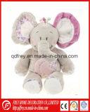 Personnaliser le jouet coloré mignon mou d'éléphant de peluche