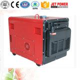 가정 사용 3kw 4kw 5kw 6kw 침묵하는 디젤 엔진 휴대용 소형 전기 발전기