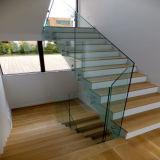 10mm balustrade en verre trempé clair Frameless Prix au mètre carré