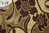 Tela 100% de tapicería del Chenille del telar jacquar del poliester