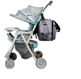 Haute qualité sac fourre-tout des couches pour bébés avec des poches isolées/coussinet de remplacement