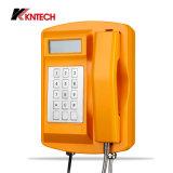 Телефона IP Koontech телефон IP66 сверхмощного напольный непредвиденный