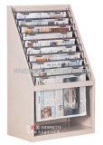 Estante de libro de la biblioteca de los muebles de escuela y estante