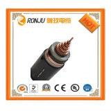 El Zr Yjlv22-10kv 3*400 que el conductor de aluminio XLPE ignífugo aisló Acero-Sujeta con cinta adhesiva el cable de transmisión forrado PVC acorazado