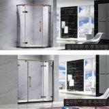 Quarto de chuveiro simples da alta qualidade da casa de campo do hotel