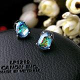 Silver Clip Femmes Diamant Zircon Earring