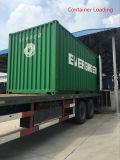 Grüner Form-Großverkaufhölzerner zusammengesetzter hohler Plastikdecking 35*150mm