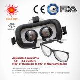 Visor de VR Máscara de Realidad Virtual adecuado para el miope y la hipermetropía y los niños con correa ajustable película 3D juegos de auriculares de Vr gafas para ios y Android & W