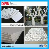 Feuille blanche de PVC de feuille de mousse de PVC