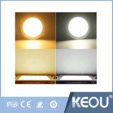 Vertiefte quadratische dünne LED-Instrumententafel-Leuchte 24W mit Fabrik-Preis
