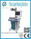 De Laser die van de vezel Machine /Marking op het Plastiek van het Metaal merken