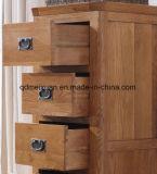Quarto de madeira de carvalho de madeira sólida Armário Mobiliário 5 vestiários (M-X2481)