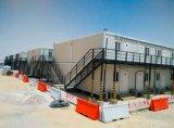 Het moderne Geprefabriceerde Beweegbare Vlakke Huis van de Verschepende Container van het Pak voor Verkoop