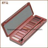 Sombra das cores do cosmético 12 da composição de Nk 3 com Brusher