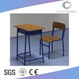 学校家具(CAS-SD1826)のための安い学生表の単一の机そして椅子