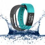 Armband van de Vertoning OLED van de Drijver van de Fitness van de Monitor van de Zuurstof van de Bloeddruk van de Pedometer van de sport De Slimme