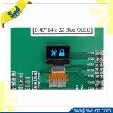 """0.49 """" monocromos de la visualización del LCD OLED para la máquina automática del café"""