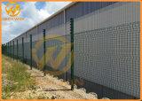 Het Zuidafrikaanse Gegalvaniseerde Poeder bedekte de Duidelijke Omheining van de Veiligheid van de Mening met een laag