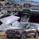 Aluguer Android Market 6.0 Multimedia Interface de navegação GPS com Mirrorlink para 2014-2017 Mazda CX-9