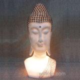 Estatuas principales de Buddha de la nueva del diseño de Polyresin luz de la noche