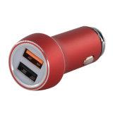 Eindeutige Entwurf QC3.0 Doppel-USB-Auto-Aufladeeinheit