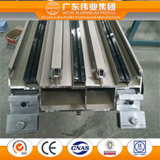 Profil aluminium de haute qualité pour mur rideau Profil de construction