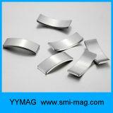 Sterke Permanente die Magneten in de Vorm van de Boog in Motor wordt gebruikt