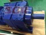 R97 Motorreductor helicoidal reductor de engranajes reductor de velocidad montado en el pie para máquinas de transportador