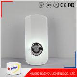 差込式LED夜ライト、防水携帯用センサーライト