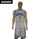 Liberare la pallacanestro rovesciabile nera Jersey (BK016) della Jersey di pallacanestro di disegno