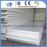 Feuille de toit de la Chine matériau du panneau en métal et PU panneaux type sandwich