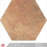 Mattonelle di ceramica rustiche materiali degli angoli del pavimento sei della porcellana di Foshan Brown Buiilding Matt (VR6N5221, 520X600mm/20 '' X24 '')