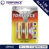 Mercury&Cadmium freie China Fabrik-ultra alkalische Batterie (LR6/AA Größe)
