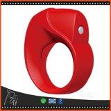 Anillo usable elegante del movimiento mágico de Phone para los pares que vibran el anillo sin hilos del martillo del estímulo del masaje de los puntos negros de las fundas