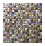 Concisa Mezclar el color de pared mosaico de piedra y baldosa