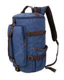 Sac à dos de toile de course de sports en plein air du sac à dos 1 de X de l'homme occasionnel bleu-foncé de sac à dos rétro