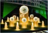 Fontana chiara del giardino della casa della fontana di acqua del dente di leone di Fenlin LED
