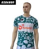 Chemises en gros bon marché blanc faites sur commande de rugby du Jersey de rugby