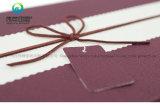 Rectángulo de regalo rígido del papel de imprenta de la cinta de la alta calidad