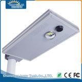 IP65 10W Lámpara LED de exterior de la luz de calle solar integrada