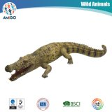 Jouet en plastique d'animal de crocodile
